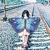 Hifot Dreamy Dance - Scialle a farfalla con ali da principessa e ali di fata con maschera in feltro #3