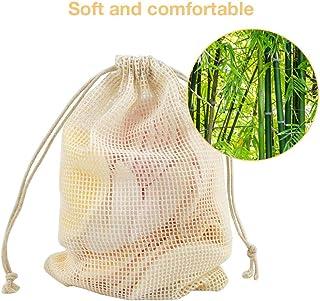 Discos Desmaquillantes Reutilizables Lavables Algodon Bambu