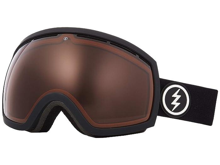 EG2 (Matte Black Brose) Snow Goggles