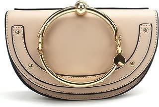 Normia Rita Cute Lune Shoulder Bags Ring Handbags for Women Phone Wallet Shell Purse For Girls