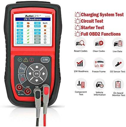 Autel Kfz Diagnosegeräte Al539b Obd2 Diagnose Fehlercoder Lesen Und Löschen Echtzeit Pcm Daten Batterie Test Avometer Für Spannung Usw Auto