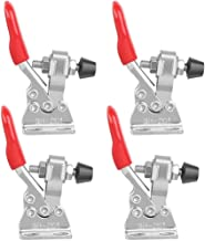 Quick Release Toggle Clamp - GH-201 Antislip Horizontale 59lbs Holding Capaciteit, Rood Heavy-Duty Hand Tool voor Machineb...