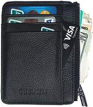 XHBEAR Slim Wallet RFID Front Pocket Wallet Minimalist Secure Thin Credit Card