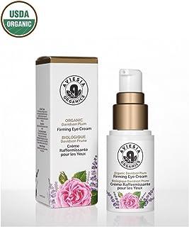 Aviesia Organics Firming Eye Cream - 100% USDA Certified - Organic Skin Care for Dark Circles, Wrinkles, Puffiness and Bag...