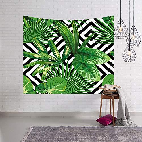 mmzki Tapisserie/Wanddecke/Strandtuch Green Plant 3 150x102