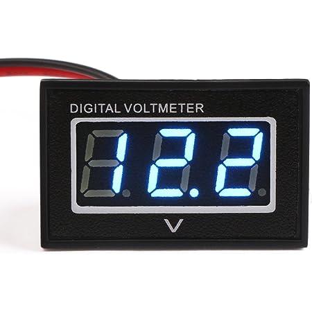 Dc 30v Mini Digital Voltmeter Blau Led Digital Display Elektronik