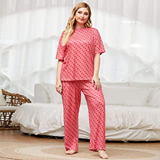 Pantaloni da pigiama da donna taglie forti Mentally Exhausted