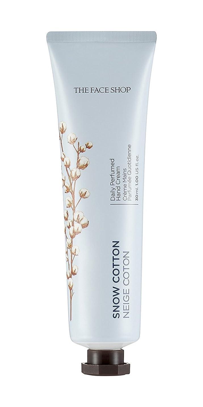 シャーク役割現れる[1+1] THE FACE SHOP Daily Perfume Hand Cream [10. Snow Cotton] ザフェイスショップ デイリーパフュームハンドクリーム [10.スノーコットン] [new] [並行輸入品]