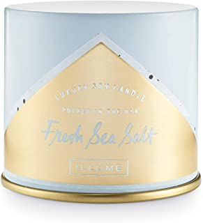 Illume Vanity Tin, Soy Candle, Freash Sea Salt