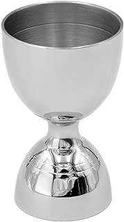 Homestia Bell Jigger Stainless Steel 1oz/2oz Double Cocktail Jigger(Silver)