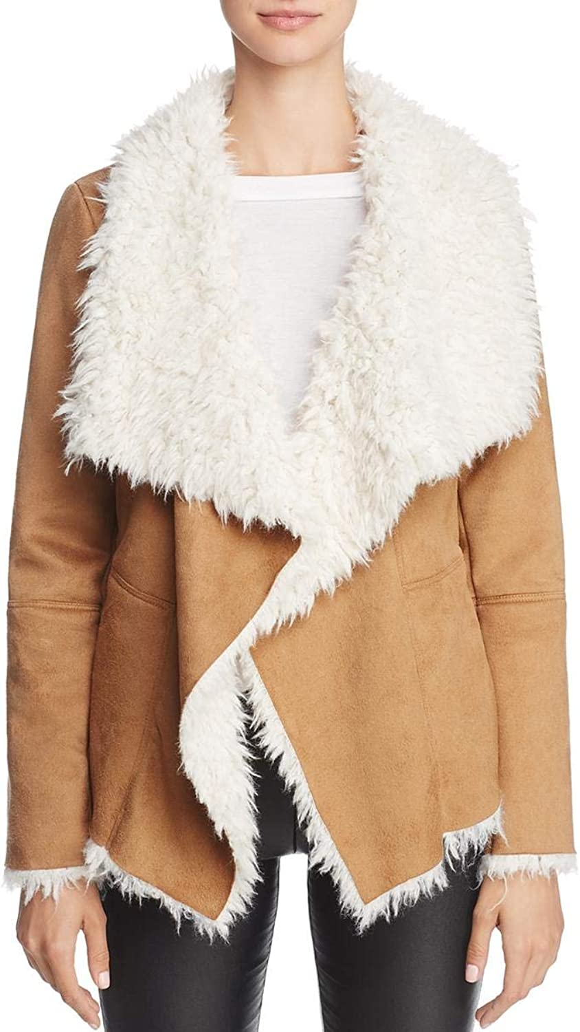 BB Dakota Womens Fall Faux Suede Jacket