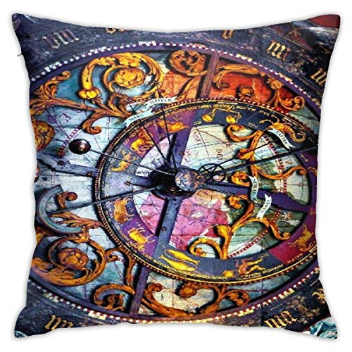 XCNGG Funda de almohadaPillow Cover Steins Gate Pillow Case Pillow Covers Home Decor Cushion Cover Pillow Funny Square 18x18 Inches Pillowcase for Bedroom/Living Room/Room/Sofa/Couch