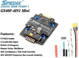 SPEDIX GS40F 4 in 1 Mini Blheli_32 20x20 6S ESC