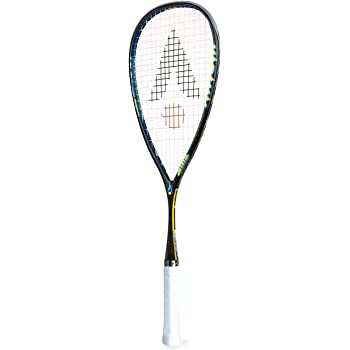 Karakal - Squash Racket Raw 120 but low weight - Nano Graphite/Titanium Racket - including full size cover