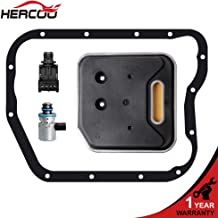 HERCOO A500 A518 A618 42RE 46RE 47RE 48RE Transmission Governor Pressure Solenoid Transducer with Filter Gasket Kit for 2000 Up Dakota Durango, Dodge Ram 1500/2500/3500, 2000-2004 Jeep Grand Cherokee