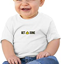 Get Done Personalized Designer Graphic Baby O-neck Short Sleeve Cotton