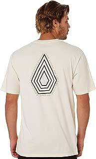 Volcom Men's Radiation Mens Ss Tee Short Sleeve Cotton White