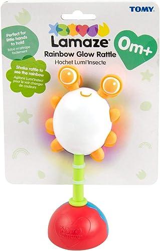 Rainbow Glow Rattle, Multicoloured