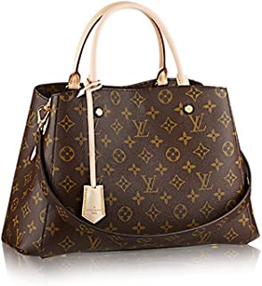 Louis Vuitton Montaigne MM Monogram Handbag Article: M41056 Made in France