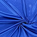 Futterstoff Charmeuse – königsblau — Meterware ab 0,5m