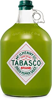 Tabasco Jalapeño Sauce , 1x Gallone 3,78 l, scharfe Chili Sauce, 100% natürlich, Glasflasche