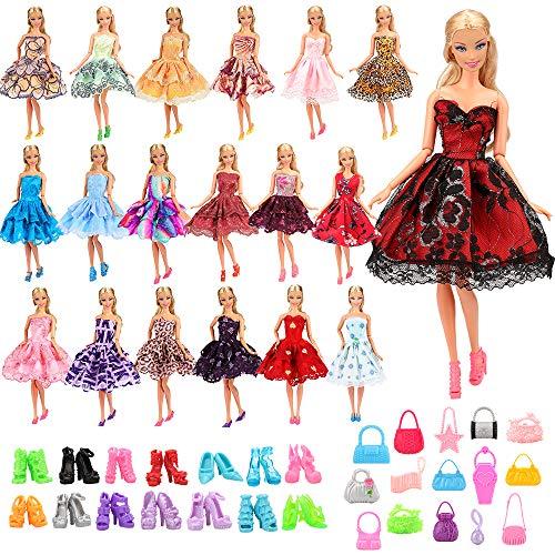 Villavivi Abiti E Accessori Per Bambola Barbie Dolls (Costumi Da Bagno Per Barbie)