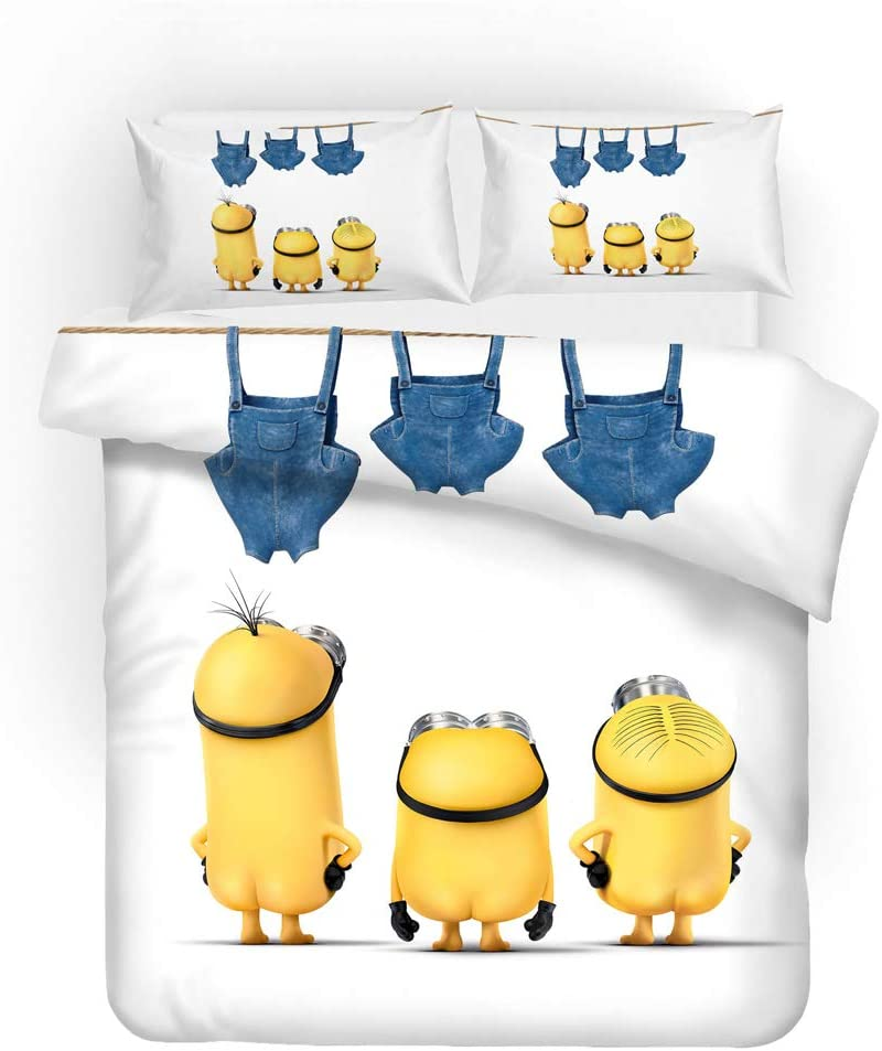 YUN-1 3 Pieces of Bedding Man 3D Three-Dimensional Little store Yellow 67% OFF of fixed price