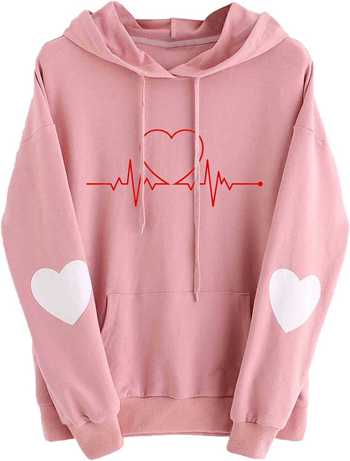 Cute Tops for Women Fall Soft Simple Fashion Soli Fresno Mall Graphics Limited time sale Heart