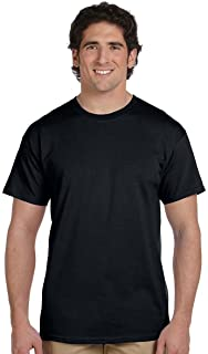 a2011b6caf Fruit of the Loom 3930 100% Heavy Cotton Tee Black 2 Pack