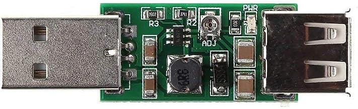Hehilark C/âble Boost USB 5V Convertisseur de Tension r/églable jusqu/à 9V 12V Connexion dalimentation Mobile C/âble denregistreur routeur
