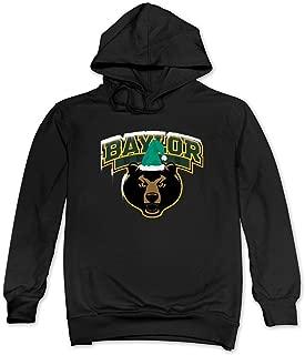 Men Merry Christmas Baylor Bears Snow Hat Hoodie 100% Cotton