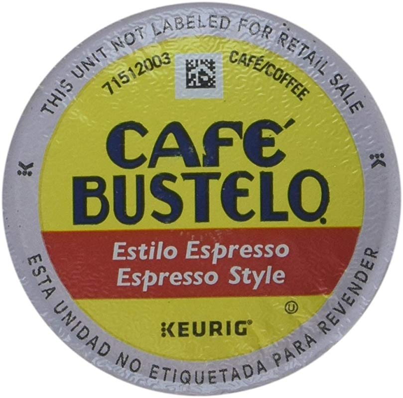 Caf Bustelo Espresso Roast 48 K Cup Packs