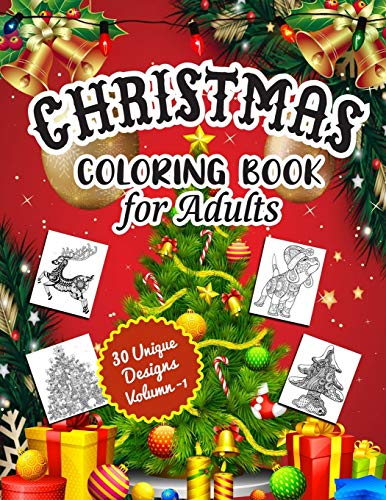 Compare Textbook Prices for Christmas Coloring Book for Adults: An Adult Coloring Book with Happy Holiday Celebration, Santa Claus Gifts, Christmas Tree Decorations and Other Cute Christmas Stuff  ISBN 9781708003944 by ParlaxTee, Coloring Book