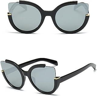c21c42fd0cd42 Doober Women Retro Vintage Mirrored Lens Sports Cat Eye Oversized Sunglasses  Shades