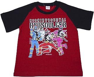 【本体綿100%】2019年 夏物 スーパー戦隊 騎士竜戦隊リュウソウジャー 天竺 半袖Tシャツ