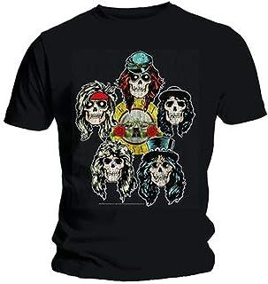 Guns N Roses - Vintage Heads Men's T-Shirt Black X-Large