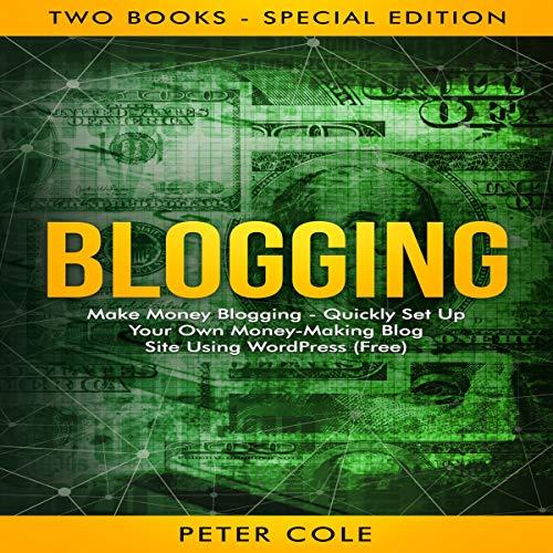 Blogging audiobook cover art