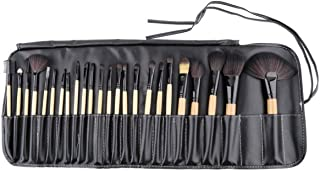 Makeup Brushes 24PCs Professional Foundation Concealer Blusher Eye Liner Shadow Face Powder Brush Set - T2O® Premium Quali...