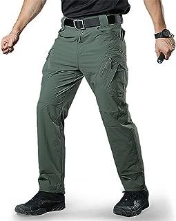 TACVASEN Men's Outdoor Breathable Quick Drying Lightweight Cargo Ripstop Hiking Pants