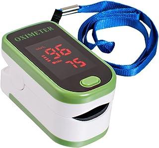 Carejoy Pulsímetro portátil LED oxímetro de pulso SpO2 PR Monitor Verde