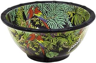 Les Jardins de la Comtesse - Bol en Mélamine Pure - Jungle - Ø 15 cm - Service de Table - Collection de Vaisselle Quasi-In...