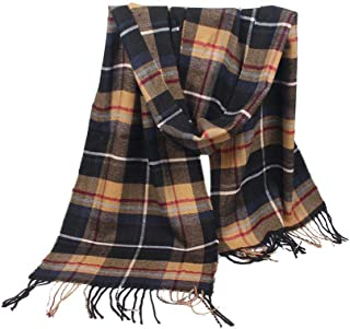 Scarfs for Women Hot Sale,deatu Clearance Ladies Striped Tassels Air Conditioner Shawl Imitation Cashmere Rectangle Scarf