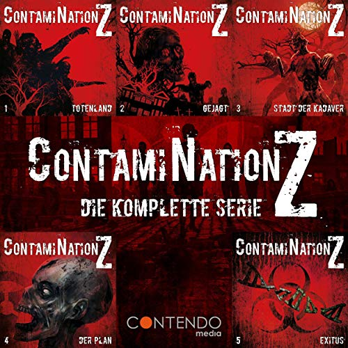 ContamiNation Z - Die komplette Serie audiobook cover art