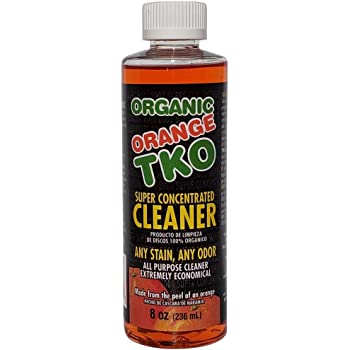 Organic Orange TKO Super Concentrated Multi Purpose Citrus Cleaner, Degreaser, Deodorizer, Stain Remover, Pet Safe, Non Toxic