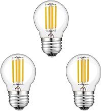 E27 LED Lampen, 4W LED Gloeilamp (Gelijk aan 40W), 3 Stuks Gloeidraadlampen, Warm Wit 2700K, Niet Dimbaar