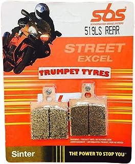 Ducati 888 Sp4/888 Sps 92 93 94 95 SBS Rendimiento Trasero Fast Road Sinterizados Pastillas de Freno Sinterizadas Set Calidad Genuina OE 519ls