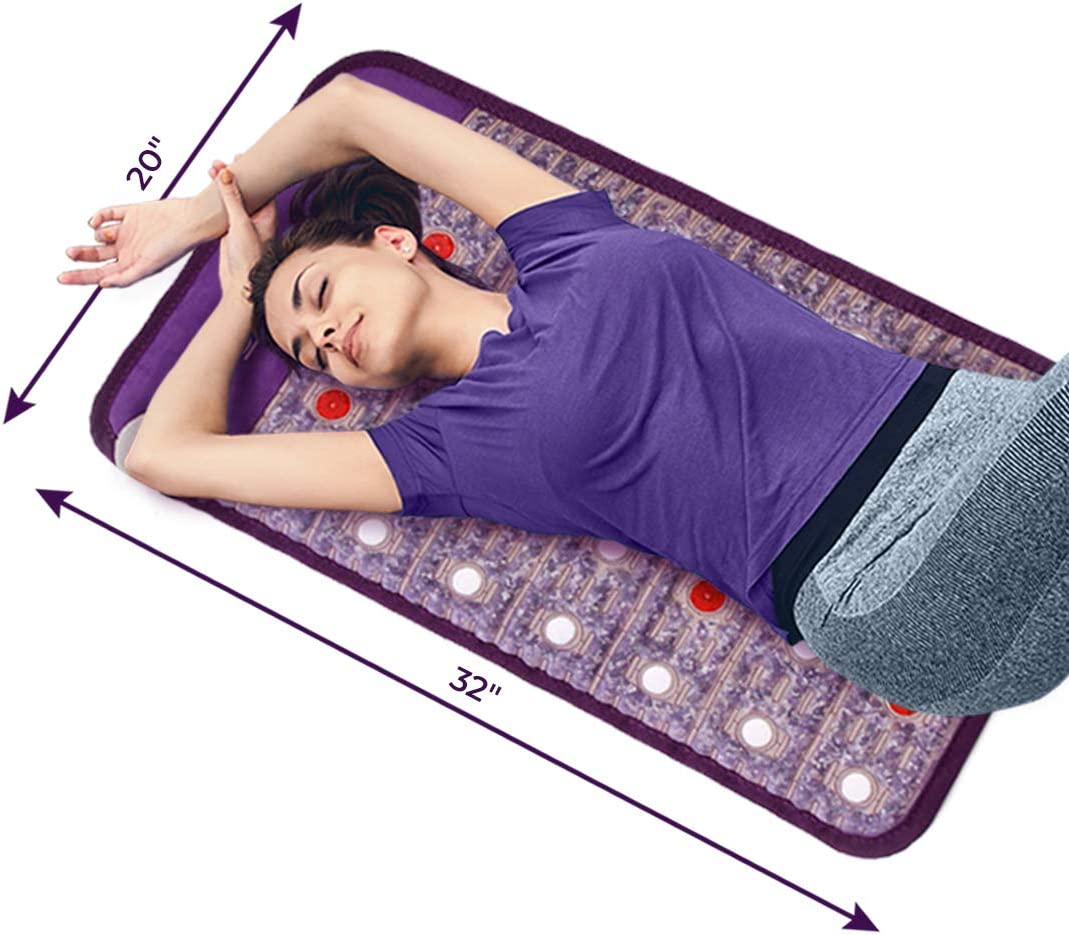 Infrared Mat Bio Electromagnetic Negative Ion T Light Inventory cleanup selling sale Choice Red