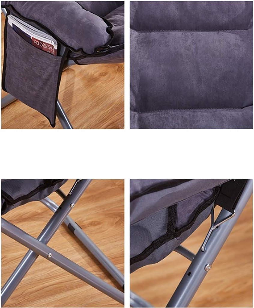 Chaise Chaise pliante Fauteuil Ordinateur lavable salon dortoir Chaise longue (Couleur : B) D