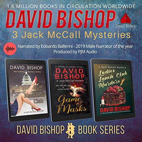 3 Gripping Jack McCall Mysteries Audiobook By David Bishop cover art