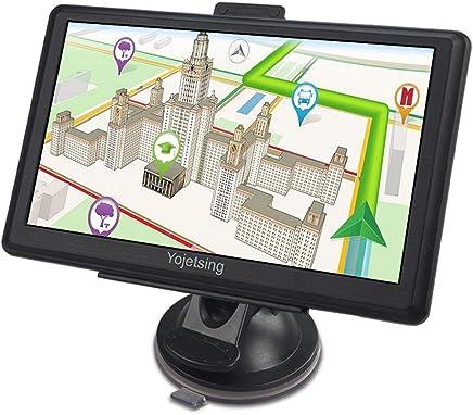 YoJetSing GPS Navigation for Car,Truck GPS 7 Inch HD GPS Navigator, Built-